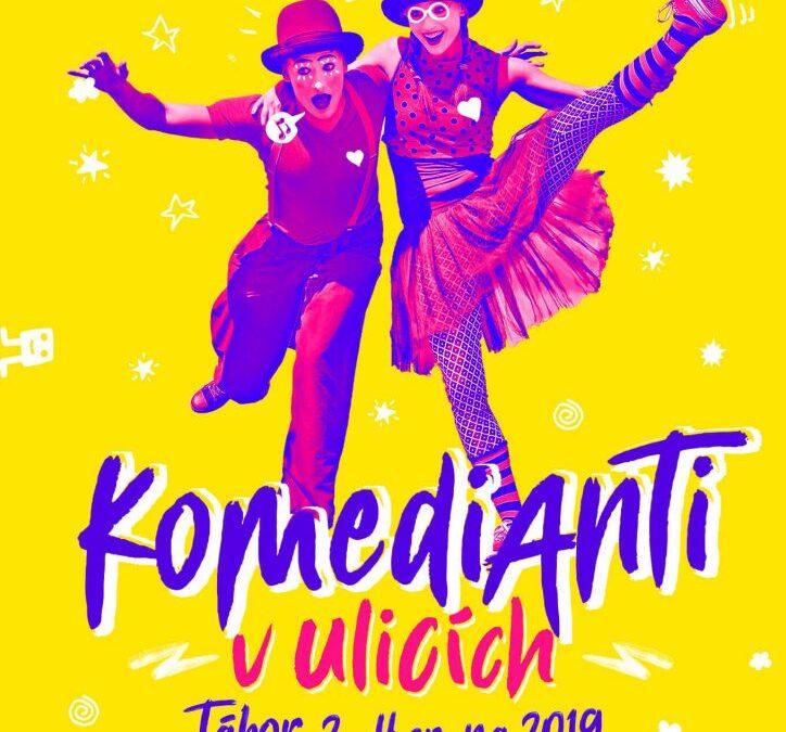 """Mezinárodní festival pouličního divadla """"Komedianti v ulicích"""" byl přesunut na rok 2021❗️"""